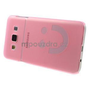 Plastový obal na Samsung Galaxy A3 - růžový - 3