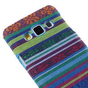 Obal potažený látkou na Samsung Galaxy A3 - mix barev I - 3