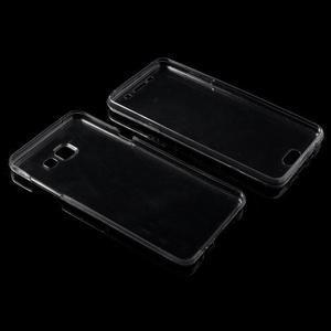 Gelový obal 2v1 pro zadní kryt a displej na Samsung Galaxy A5 (2016) - šedý - 3