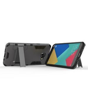 Odolný kryt na mobil Samsung Galaxy A5 (2016) - stříbrný - 3