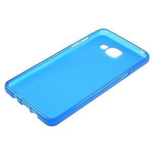 Matný gelový kryt na mobil Samsung Galaxy A5 (2016) - modrý - 3