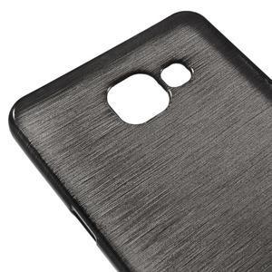 Brush gelový obal na Samsung Galaxy A5 (2016) - černý - 3