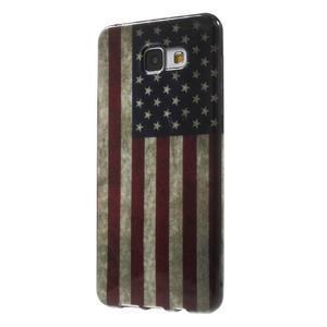 Obal s motivem na mobil Samsung Galaxy A5 (2016) - US vlajka - 3
