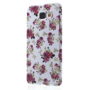 Obal s motivem na mobil Samsung Galaxy A5 (2016) - květiny - 3