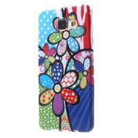 Obal s motivem na mobil Samsung Galaxy A5 (2016) - malované květy - 3/7