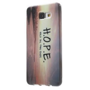 Obal s motivem na mobil Samsung Galaxy A5 (2016) - hope - 3