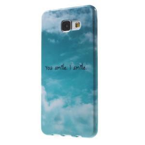 Obal s motivem na mobil Samsung Galaxy A5 (2016) - smile - 3