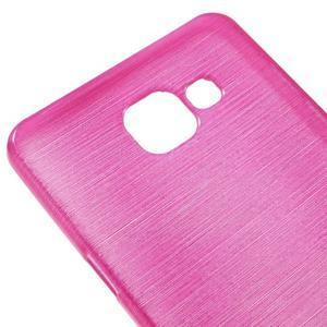 Brush gelový obal na Samsung Galaxy A5 (2016) - rose - 3