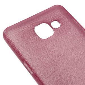 Brush gelový obal na Samsung Galaxy A5 (2016) - růžový - 3