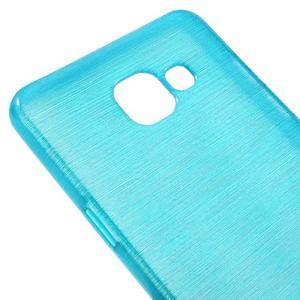 Brush gelový obal na Samsung Galaxy A5 (2016) - modrý - 3