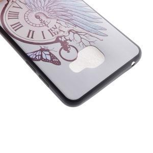 Gelový obal na mobil Samsung Galaxy A5 (2016) - antické hodiny - 3