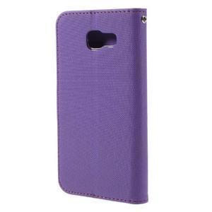 Roarlux peněženkové pouzdro na Samsung Galaxy A5 (2016) - fialové - 3