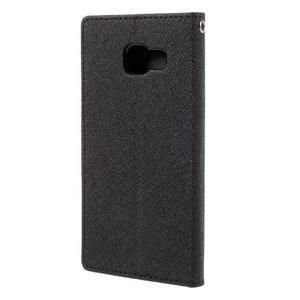 Fancy pouzdro na mobil Samsung Galaxy A5 (2016) - černé - 3