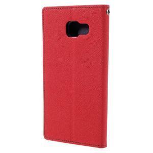 Fancy pouzdro na mobil Samsung Galaxy A5 (2016) - červené - 3