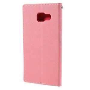 Fancy pouzdro na mobil Samsung Galaxy A5 (2016) - růžové - 3