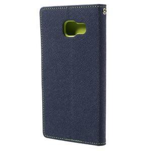 Fancy pouzdro na mobil Samsung Galaxy A5 (2016) - tmavěmodré - 3