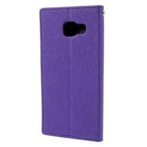 Fancy pouzdro na mobil Samsung Galaxy A5 (2016) - fialové - 3