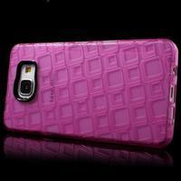Square gelový obal na mobil Samsung Galaxy A5 (2016) - rose - 3/7