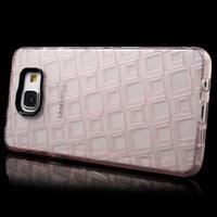 Square gelový obal na mobil Samsung Galaxy A5 (2016) - růžový - 3/7