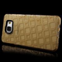 Square gelový obal na mobil Samsung Galaxy A5 (2016) - zlatý - 3/7