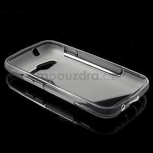 Gelové s-line pouzdro na Samsung Galaxy Ace 4 - transparentní - 3