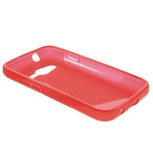 Gelové s-line pouzdro na Samsung Galaxy Ace 4 - červené - 3