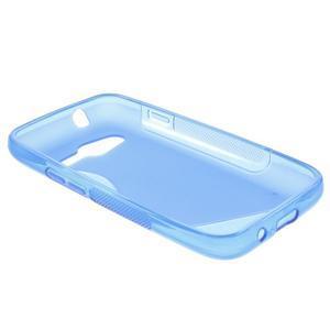 Gelové s-line pouzdro na Samsung Galaxy Ace 4 - modré - 3
