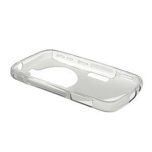 Šedý s-line gelový kryt na Samsung Galaxy K Zoom C115 - 3