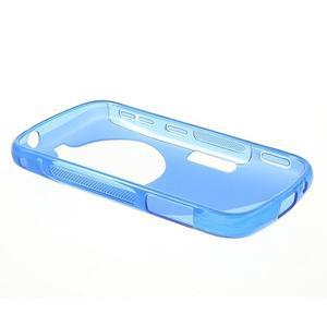 Modrý s-line gelový kryt na Samsung Galaxy K Zoom C115 - 3