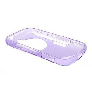 Fialový s-line gelový kryt na Samsung Galaxy K Zoom C115 - 3