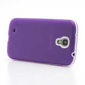 Gelové pouzdro 2v1 na Samsung Galaxy S4 - fialové - 3