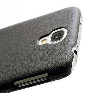 Plastové poudro na Samsung Galaxy S4 - černé - 3