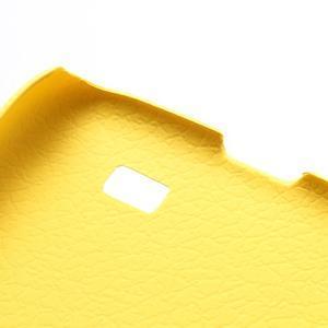 Plastové poudro na Samsung Galaxy S4 - žluté - 3