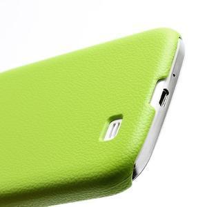 Plastové poudro na Samsung Galaxy S4 - zelené - 3