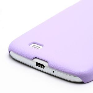 Plastové poudro na Samsung Galaxy S4 - fialové - 3