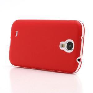 Gelové pouzdro 2v1 na Samsung Galaxy S4 - červené - 3