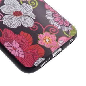 Jells gelový obal na Samsung Galaxy S7 - květiny - 3
