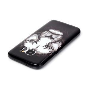 Sally gelový obal na Samsung Galaxy S7 - lev - 3