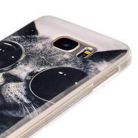 Gelový kryt na mobil Samsung Galaxy S7 - kočka mafián - 3/4