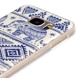 Gelový kryt na mobil Samsung Galaxy S7 - sloni - 3