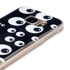 Gelový kryt na mobil Samsung Galaxy S7 - očička - 3