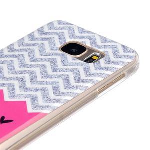 Gelový kryt na mobil Samsung Galaxy S7 - smile - 3