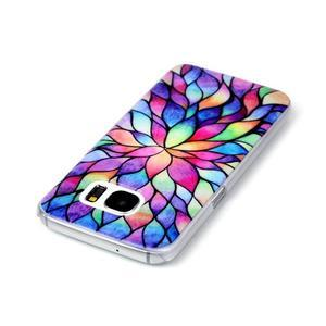 Plastový obal na mobil Samsung Galaxy S7 - petals - 3