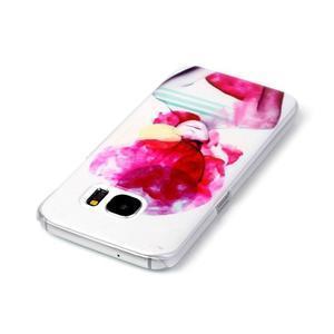 Plastový obal na mobil Samsung Galaxy S7 - dívka - 3