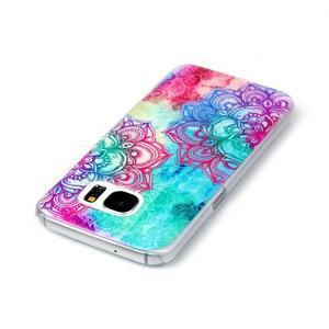 Plastový obal na mobil Samsung Galaxy S7 - mandala - 3
