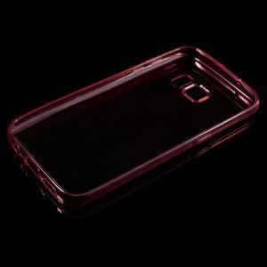 Ultratenký gelový obal na mobil Samsung Galaxy S7 - červený - 3