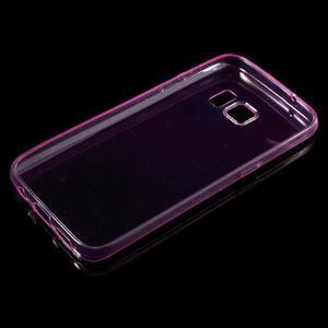 Ultratenký gelový obal na mobil Samsung Galaxy S7 - růžový - 3