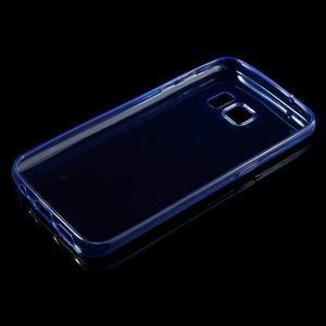 Ultratenký gelový obal na mobil Samsung Galaxy S7 - modrý - 3