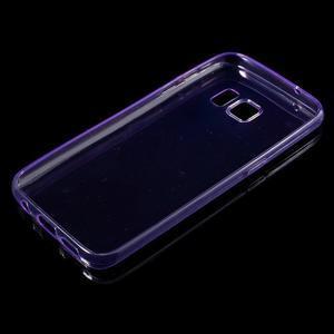 Ultratenký gelový obal na mobil Samsung Galaxy S7 - fialový - 3