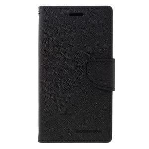Goosper PU kožené pouzdro na Samsung Galaxy S7 - černé - 3